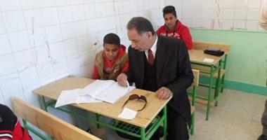 157 لجنة تستقبل طلاب الشهادتين الابتدائية والإعدادية بجنوب سيناء
