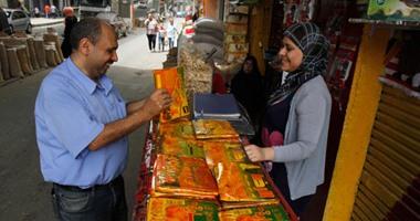 ضبط 1800 لفافة قمر الدين بدون فواتير قبل طرحها بالأسواق فى بورسعيد