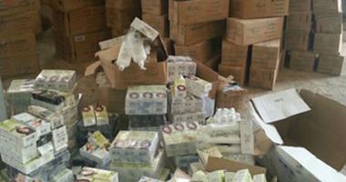 التحفظ على 1107 عبوة مستحضرات تجميل مجهولة المصدر بحوزة صاحب مخزن فى القاهرة
