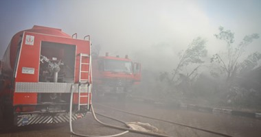 الحماية المدنية بسوهاج تتمكن من السيطرة على حريق بناحية تل الزوكى بمركز طما