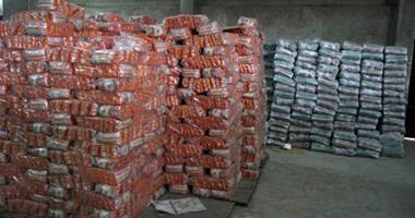 ضبط 4 أطنان أرز وطن زيت طعام مجهول المصدر فى المنوفية