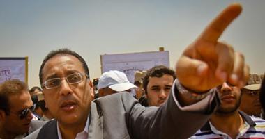 مصطفى مدبولى وزير الاسكان