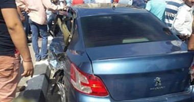 قارئ يشارك صحافة المواطن بصور لحادث مروع فى الشاطبي بالإسكندرية