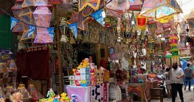 2b6de5378 بالفيديو والصور ركود فى بيع فوانيس رمضان بأسواق الإسكندرية الأسعار ...