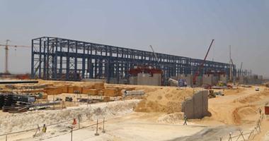 التوربينة الخامسة تدخل الخدمة ضمن أول مراحل محطة كهرباء بنى سويف العملاقة