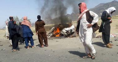 """إضرام النيران فى معقل لطالبان بإقليم """"بروان"""" الأفغانى"""