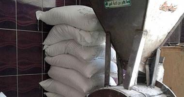 ضبط 25 طن ملح طعام فاسد داخل مصنع غير مرخص فى بنى سويف
