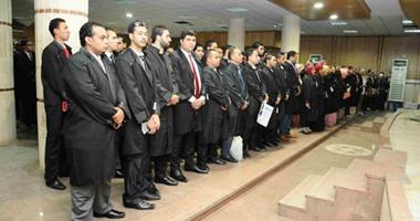 بالفيديو.. 500 محام يؤدون اليمين القانونية أمام مجلس نقابة المحامين