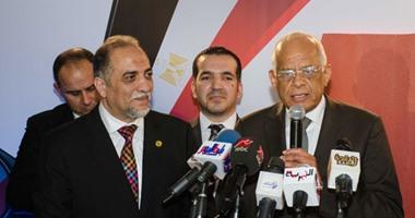 """بالصور.. رئيس البرلمان يحضر حفل تدشين جمعية """"من أجل مصر"""""""