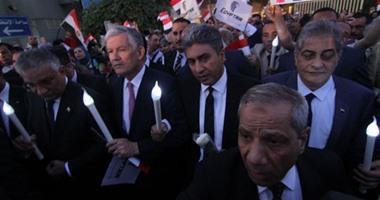 مسيرة لتأبين ضحايا الطائرة المنكوبة