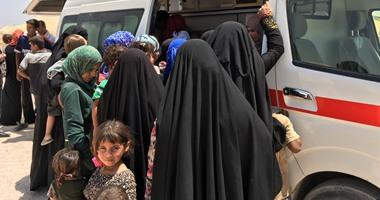 وزير الهجرة العراقى: نزوح 14 ألف شخص من الساحل الأيمن غربى الموصل