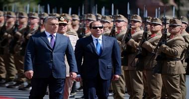 السيسي ورئيس وزراء المجر يتحدثان للإعلام من قصر الاتحادية غداً