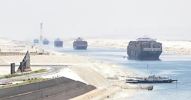 مميش: عبور 175 سفينة قناة السويس بحمولة 11.9 مليون طن فى 4 أيام