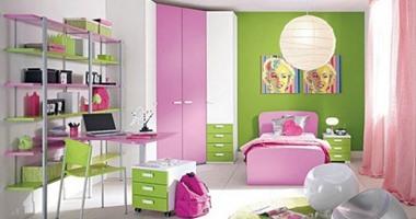طرق مختلفة لتوسيع مساحة غرفة نوم الطفل.. مش هتكلفك كتير