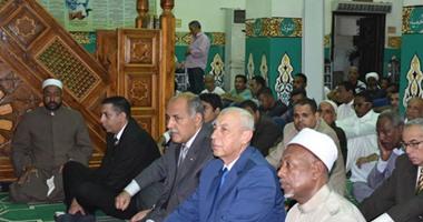 محافظ أسوان يشهد إحتفال الأوقاف بذكرى الإسراء والمعراج