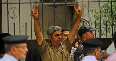 المواطنون الشرفاء يحتلون سلالم نقابة الصحفيين