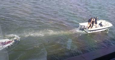 غرق شاب أثناء استحمامه بنهر النيل بالحوامدية