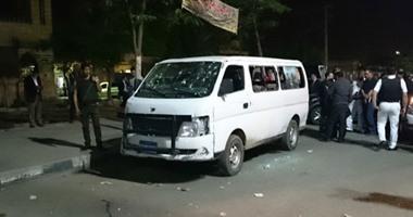 النيابة: العثور على 120 فارغا لطلقات آلية بمكان حادث حلوان الإرهابى  اليوم السابع