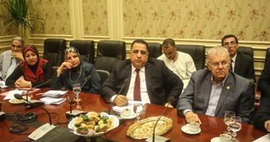 بالصور.. بدء اجتماع لجنة حقوق الإنسان لاستكمال خطة عملها