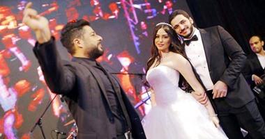 نجوم الفن والسياسة والمشاهير فى زفاف كريم السبكى وشهد رمزى  اليوم السابع