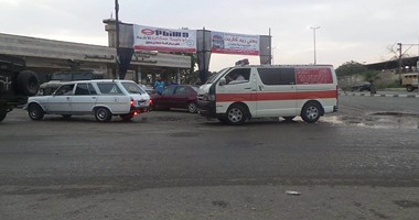 عربات نقل جثامين شهداء حادث حلوان
