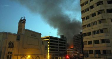 بالصور.. شهود عيان يروون تفاصيل حريق عقارات الرويعى بالعتبة  اليوم السابع