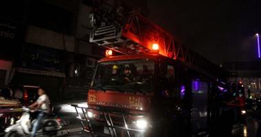 حريق يلتهم منطقة الدراجات في فرع الأهلي بمدينة نصر
