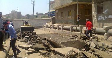 مرور القاهرة: استمرار أعمال الحفر لمد كابلات كهربائية بشوارع وسط البلد
