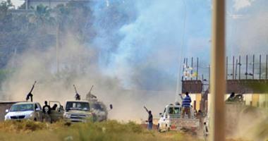 الاشتباكات ليبيا - أرشيفية