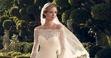 تصميمات عالمية لفساتين الزفاف