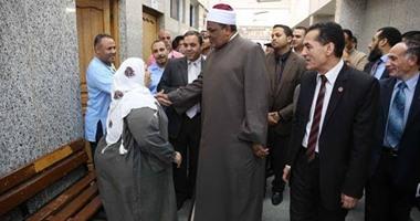رئيس جامعة الأزهر يتفقد تجديدات مستشفى الزهراء ومستشفى الجامعة التخصصى