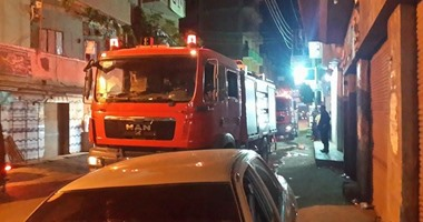 وفاة 4 وإصابة 10 مرضى باختناق فى حريق هائل بمستشفى صيدناوى بالزقازيق