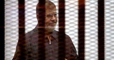 محمد مرسى فى القفص - ارشيفية