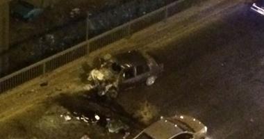مصرع شخص وإصابة 4 فى حادثى تصادم بكفر الشيخ