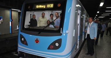 """مترو الأنفاق: تشغيل 20 قطارا مكيفا بخط """"حلوان - المرج"""" الشهر المقبل 620151812433295"""