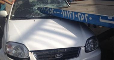 واتس آب  : حادث تصادم أعلى كوبرى السواح دون إصابات