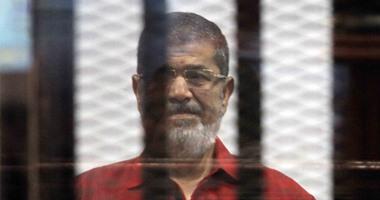 """اليوم.. استئناف محاكمة """"مرسى"""" و10 آخرين بقضية """"التخابر مع قطر"""""""