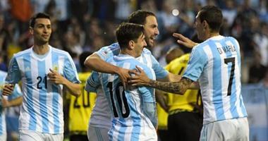الأرجنتين تواجه كولومبيا فى نهائى مبكر لـ كوبا أمريكا