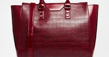 da2651a04de28 حقائب جلد التمساح موضة عروض الأزياء العالمية فى 2015 - اليوم السابع