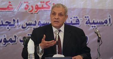 السيسى يقبل استقالة حكومة محلب ويكلفها بتسيير الاعمال