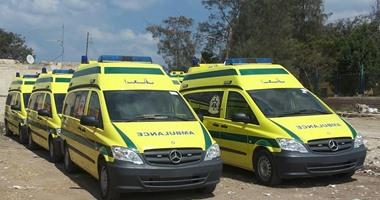 الصحة:الدفع بـ2836 سيارة إسعاف و2 إسعاف طائر و10 لانشات خلال عيد الأضحى