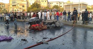 انفجار سيارة يستقلها إرهابيون بأكتوبر
