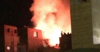 مصرع طفل وإصابة شقيقه فى حريق منزل بالبحيرة