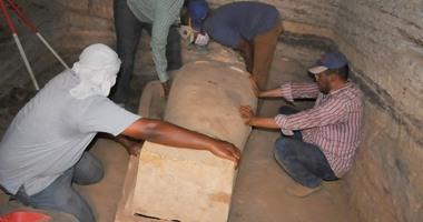 """""""آثار أسوان"""": الكشف الأثرى للأسرة """"26""""يعود لـ2500 عام"""