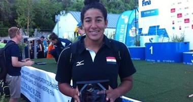 """بطلة السباحة تتأهل إلى أوليمبياد """"ريو"""" بعد تصدرها ترتيب اللاعبات الأفريقيات"""