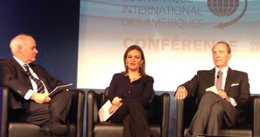 وزيرة التعاون الدولى من كندا: مصر تشهد برنامجا اقتصاديا طموحا