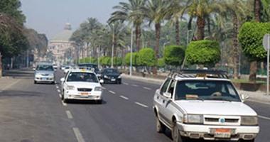 تعرف على حركة المرور بشارع أحمد عرابى فى المهندسين