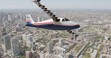 ناسا تسعى لتطوير طائرات كهربائية عديمة الانبعاثات