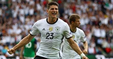 يورو 2016.. ألمانيا يتقدم على أيرلندا الشمالية 1 / 0 بالشوط الأول