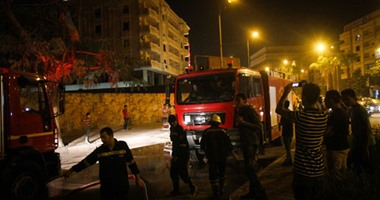 السيطرة على حريق محل تجارى فى عزبة النخل دون إصابات